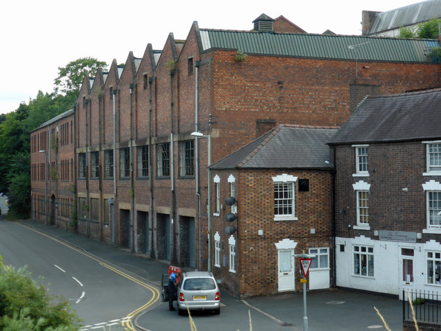 Former carpet mill, Park Lane, Kidderminster