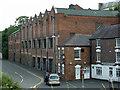 SO8276 : Former carpet mill, Park Lane, Kidderminster by Chris Allen