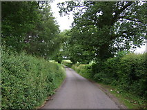 SK2640 : Lane beside Carr Wood by JThomas