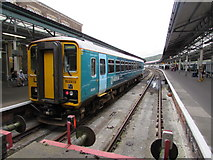 SS6593 : Arriva Trains Wales Class 153 at Swansea railway station by Jaggery