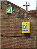 TM2844 : Defibrillator at The Maybush Inn Public House by Geographer