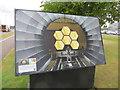 SU4786 : One of the Boards by Bill Nicholls