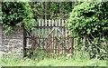J4879 : Old estate gate, Bangor (July 2015) by Albert Bridge