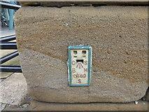 SK3587 : Flush Bracket S0469 Blonk Street Bridge Sheffield by Monica Stagg