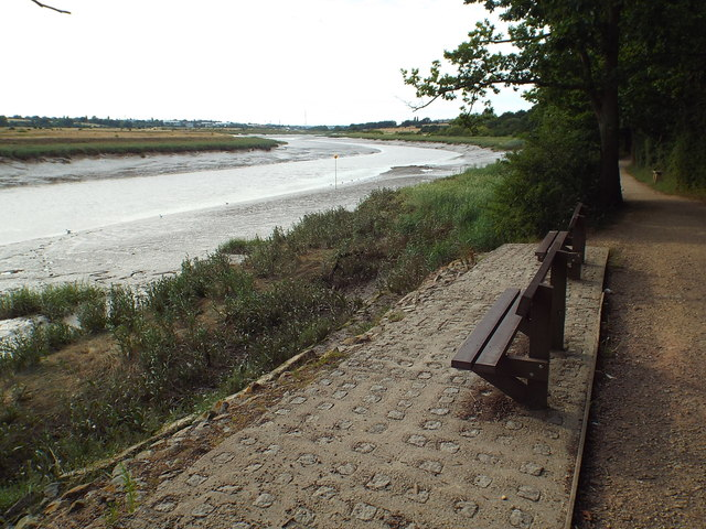 View of the River Colne, near Wivenhoe