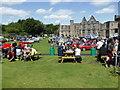 SO9490 : Dudley Castle - historic automobile show by Chris Allen