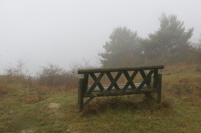 No view from the seat at The Twist, College Lake, today