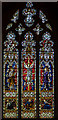 SO8932 : Stained glass window,  north nave, Tewkesbury Abbey by Julian P Guffogg