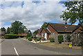SP6408 : Old Farm Close, Worminghall by Des Blenkinsopp