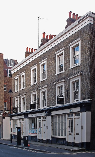 Terrace of shops, Barter Street, London WC1