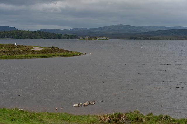 View down Lochindorb