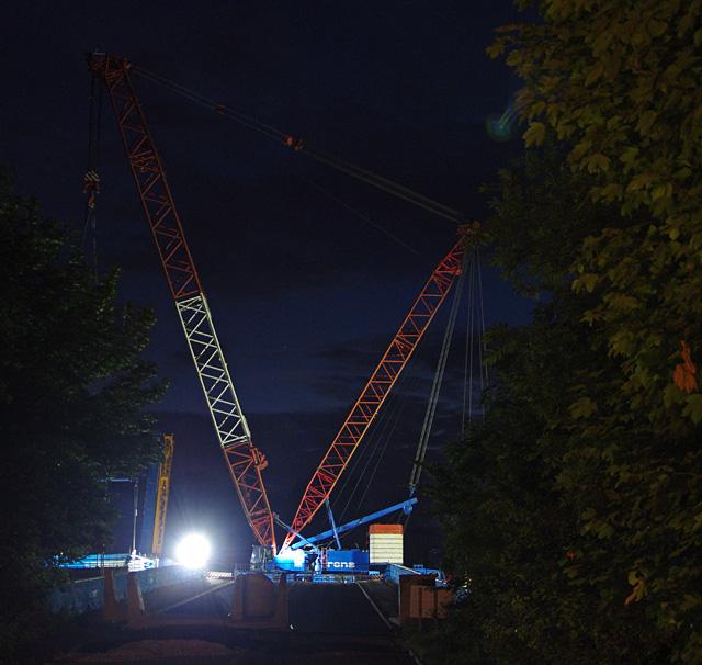 Foundry Lane Bridge reconstruction