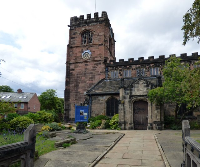St Mary's Parish Church, Cheadle