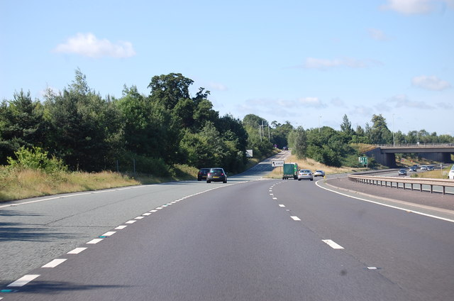 A46 slip road for A5630