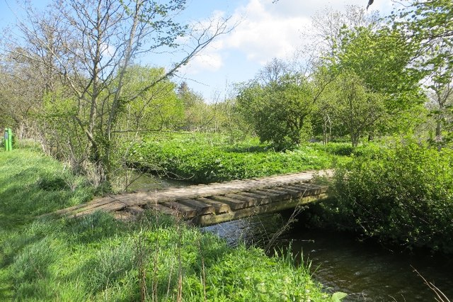 Bridge over Mill Lade