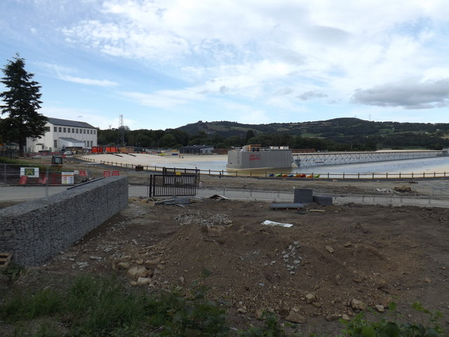 Surf Snowdonia July 2015 being filled