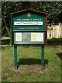 TM1469 : All Saints Church Notice Board by Adrian Cable