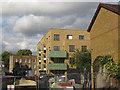 TQ3378 : New flats off Willow Walk, Bermondsey by Stephen Craven