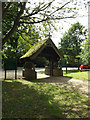TM1469 : All Saints Church Lych Gate by Adrian Cable