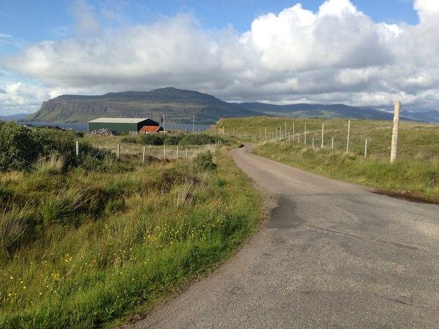 Minor road near Ardtun