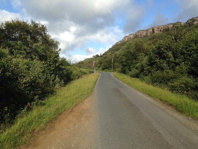 A849 near Ardcrishnish