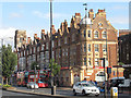 TQ3477 : Buildings on the Old Kent Road by Stephen Craven