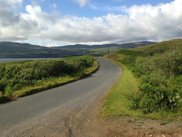 A849 near Ormsaig