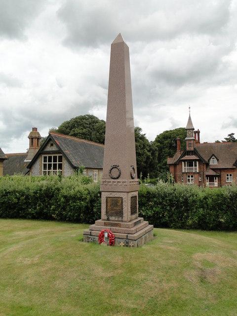 Holkham War Memorial