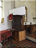 TM1469 : All Saints Church Pulpit by Geographer