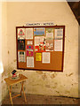 TM1469 : Community Notice Board at All Saints Church by Adrian Cable