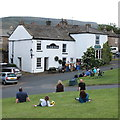 SE0399 : Free entertainment on Reeth village green by Bill Harrison