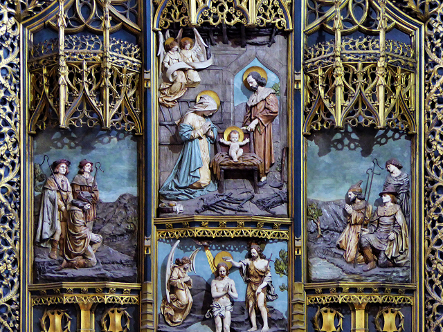Lady Chapel, Triptych Detail