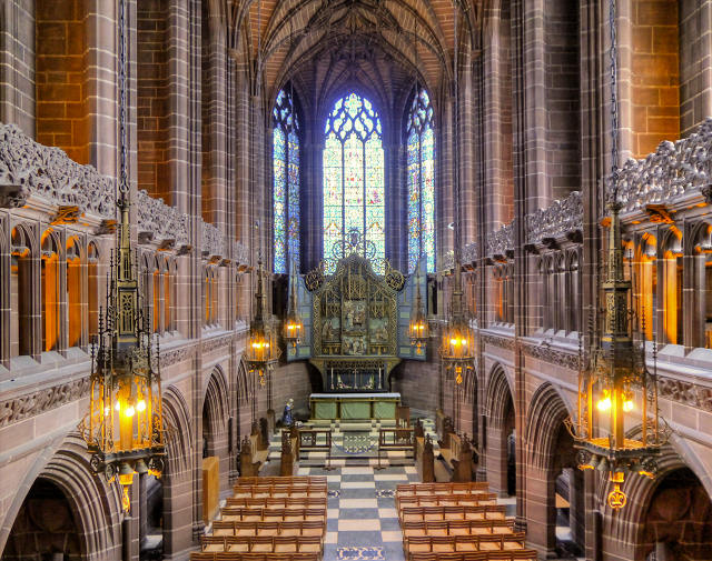 The Lady Chapel Viewed from the Gallery