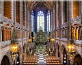 SJ3589 : The Lady Chapel Viewed from the Gallery by David Dixon