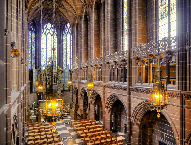 Liverpool Cathedral Lady Chapel