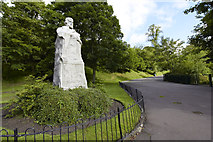 NS5766 : Thomas Carlyle 1795 - 1881 by david cameron photographer