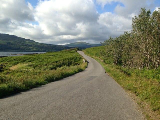 A849 near Torrans