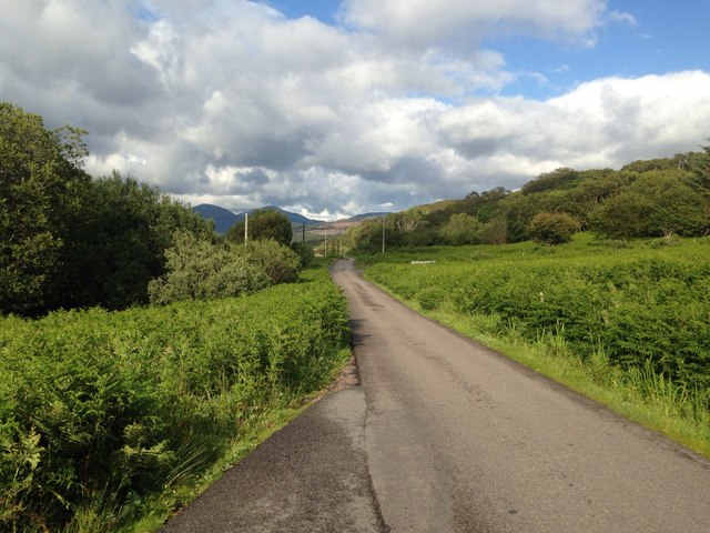 A849 at Killunaig