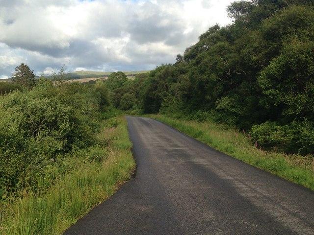 A849 near Pennyghael