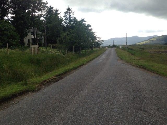 A849 near Airds Croft