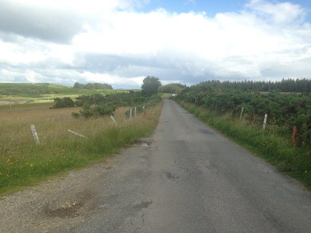 Road to Duart Castle