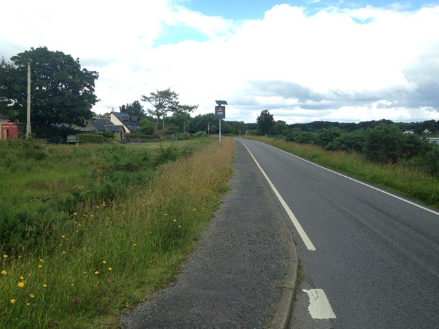 A849 at Lochdon