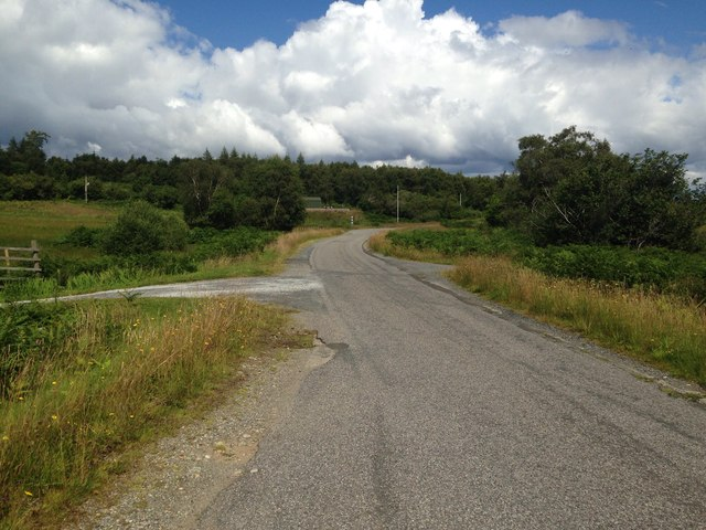 A849 near Oakbank