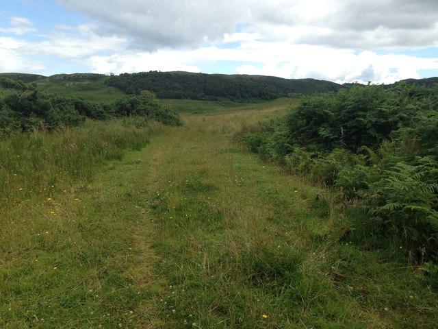 Track near Lochdon