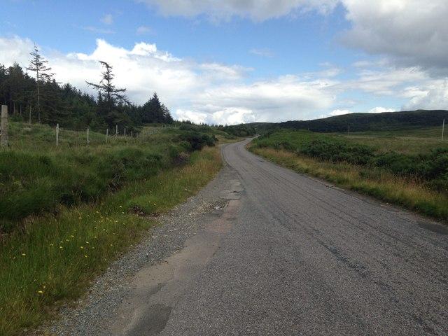 A849 near Lochdon