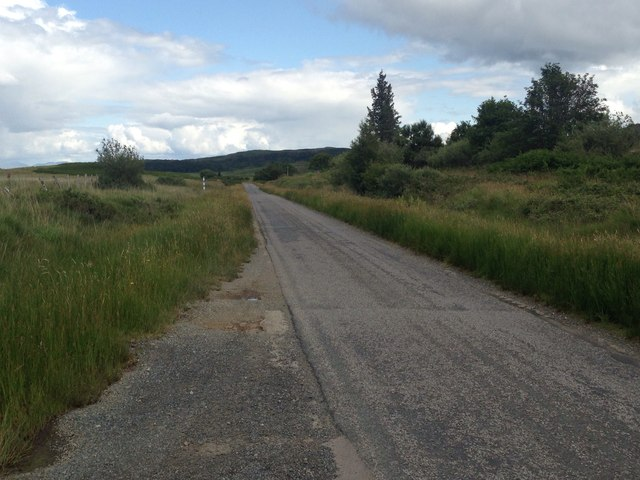 A849 near Ardachoil Farm