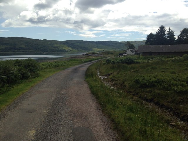 Minor road at Seanvaile
