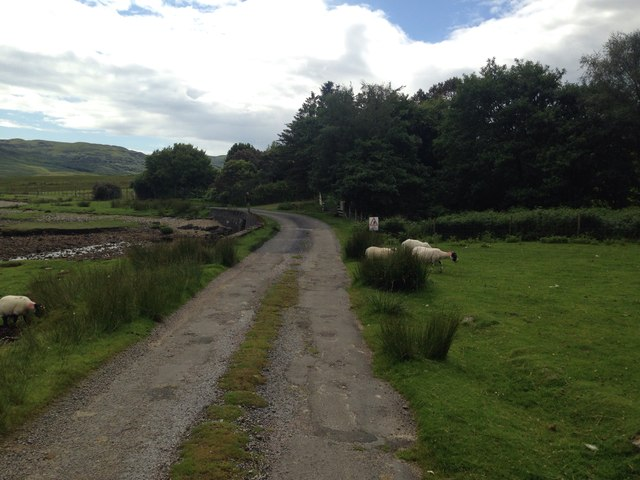 Minor road past Fellonmore