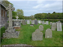 SS6138 : St Michael & All Angels church, Loxhore: churchyard (ii) by Basher Eyre