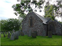 SS6138 : St Michael & All Angels church, Loxhore: churchyard (v) by Basher Eyre